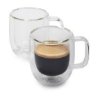 Zwilling J.A. Henckels Sorrento Plus Double-Wall Latte Glasses, 15 oz., Set of 2 | Sur La Table