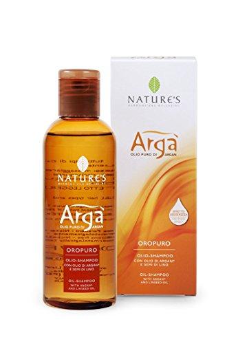 Bios Line Arga' Olio Shampoo con Olio di Argan e Semi di Lino - 200 ml