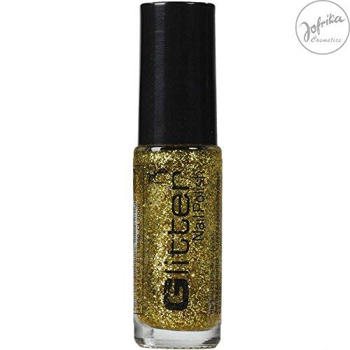 Jofrika Cosmetics Glitter Nail Polish Gold