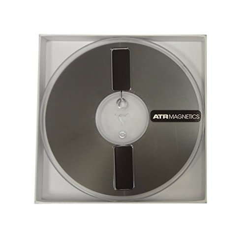 Premium Analog Recording Tape by ATR Magnetics | 1/4 Master Tape - Modern Classic Sound | 7 Plastic Reel | 1250 of Analog Tape