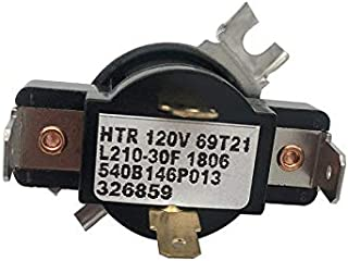 WE4M181 Dryer Cycling 4 Wire Thermostat for GE AP2044414 PS267926