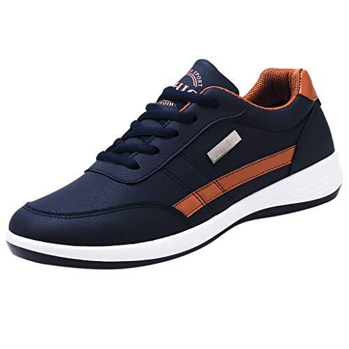 Beikoard Sneakers Männer Walking Casual Schuhe Atmungsaktive Schnürschuhe Laufschuhe Outdoorschuhe...