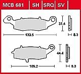 Pastiglie freno TRW Sinter Street GSR 750 C5 11 anteriore ad alte prestazioni