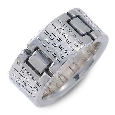 [ケンブラッド] シルバー リング 指輪 ホワイト 21.0号 KR-165-SV-21