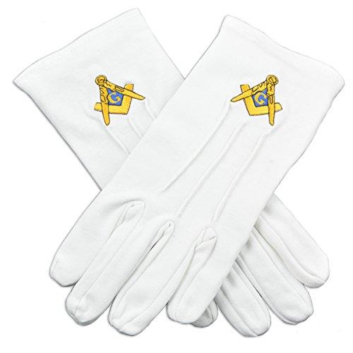 Masonic Gloves (White, One Size)