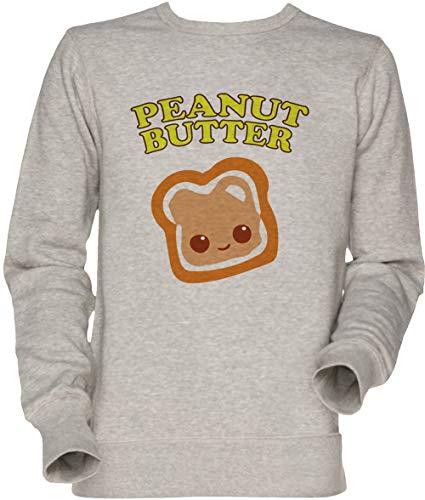 Vendax Couple - Peanut Butter (& Jelly) Unisex Sweatshirt Grau