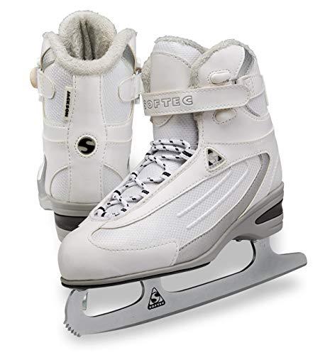 Jackson Ultima Softec Classic Junior ST2321 Kids Ice Skates - White, Size 11