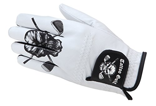 Men's Golf Glove (for Lefties, fit's right hand) 2XL - White