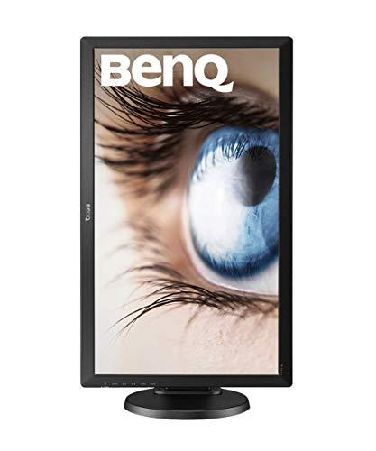 BenQ BL2405PT 60,96cm (24 Zoll) Monitor (HDMI, Displayport, VGA, 2ms Reaktionszeit, Lautsprecher, Pivot) schwarz