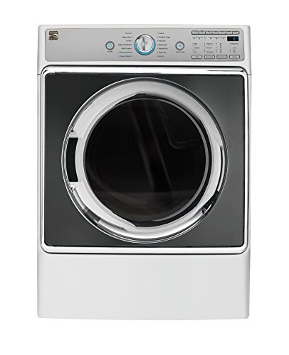 Kenmore Elite 9.0 cu. ft. Front Control Electric Dryer with Accela Steam in White, includes delivery and hookup
