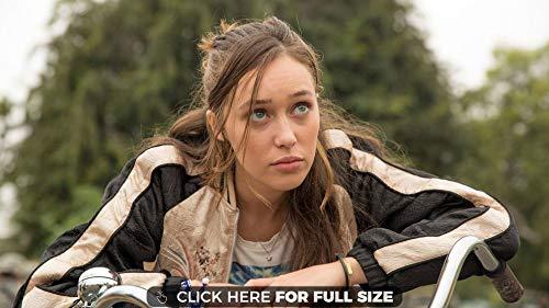 Fear The Walking Dead Alicia Clark Alycia Debnam Carey Poster auf Seide/Siebdrucke/Tapete/Wanddekoration 510666152