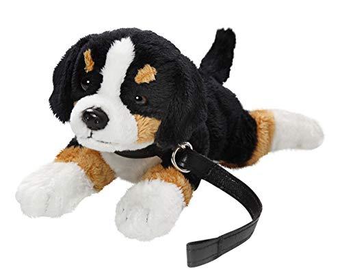 Carl Dick Berner Sennenhund mit Leine liegend aus Plüsch ca. 22cm, nur Körperlänge ca. 17cm 3426001