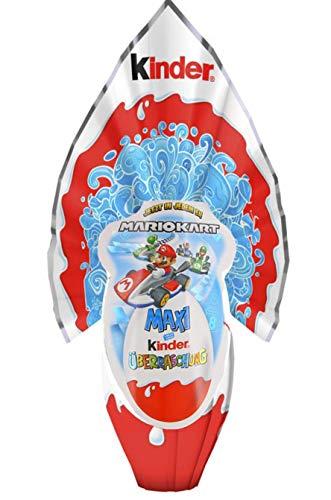 Kinder Maxi Mariokart Super Mario Surprise Uovo di Pasqua gigante, 320 g