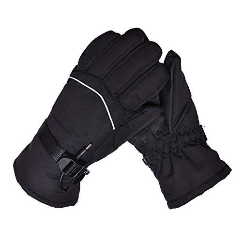 lingzhuo-shop Elektrische verwarmde handschoenen, verwarmde handschoenen, elektrische oplaadbare geïsoleerde verwarmingshandschoenen, warm houden voor mannen en vrouwen