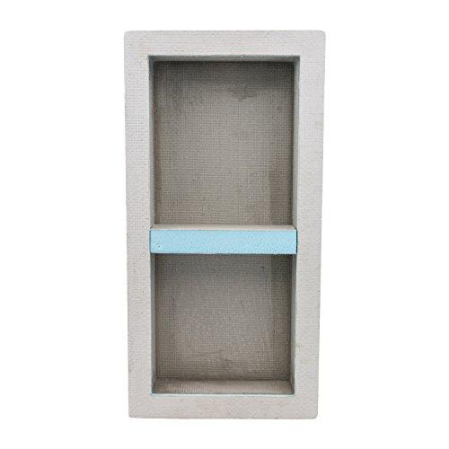 Houseables Shower Niche, Insert Storage Shelf, 12x28 Inch, Installation Size: 13'x29', Leak-Proof, Waterproof, Recessed Preformed Niches, Tileable Prefab Shelves for Bathroom, Prefabricated Organizer