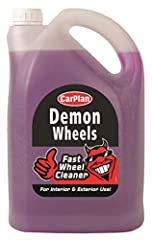 A universal wheel cleaner suitable for use on all wheels including chrome, plastic, alloys and split rims The active formula removes baked on brake dust, road grime and oil Suitable for use on 4x4s, bikes and quad bikes