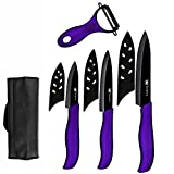Knife Cleaver Chinese Chopping Knife Ceramic Knives Set Kitchen Chef Knife Bag Storage 3'' 4'' 5'' INCH Paring Utility Slicing Knife Meat Fish Cooking Accessory Cutting Vegetable