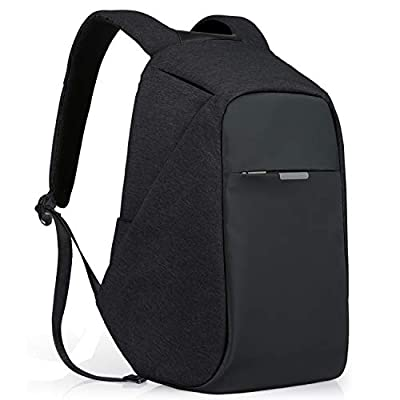 Theft Proof Backpack, Anti-theft Travel Backpack, Hidden Zipper Bag with USB Charging Port, Water Resistant Business Travel Laptop Bag for Student Work Men & Women by Oscaurt New Version from oscaurt
