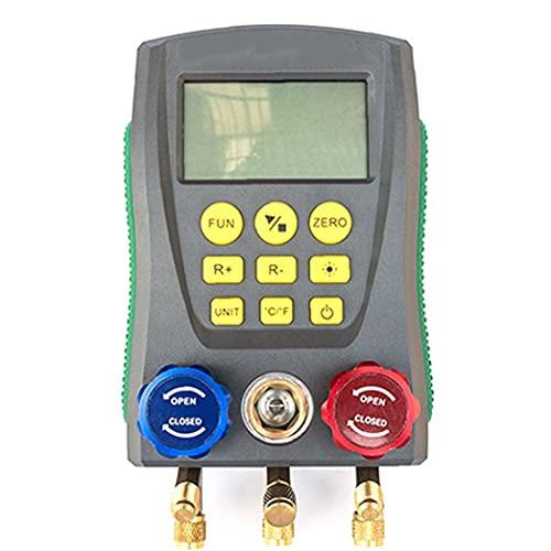 Relfrigeration digital collettore calibro Dy517 Auto Condizionatore per auto Temperatura di pressione Manometro elettronico Manometro strumento di tester, refrigerante