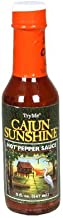 TryMe Cajun Sunshine Hot Pepper Sauce, 5 OZ Bottles(Pack of 3)