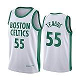 GHJK Celtics 2021 Nueva Temporada Equipo Entero Camisetas de Baloncesto, Walker 8# Tatum 0# Pritchard 11# ect Player Fans Camisa de Entrenamiento, Tops sin Mangas tran Teague55-L
