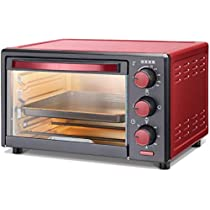 USHA 3716 16Liters Oven Toaster Grill with Accessories, Red, Maroon