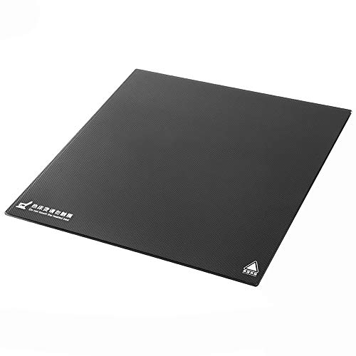 Naliovker Ender3 Thick Self-Adhesive Build Surface Glass Plate 235X235Mm For Ender-3 3D Printer