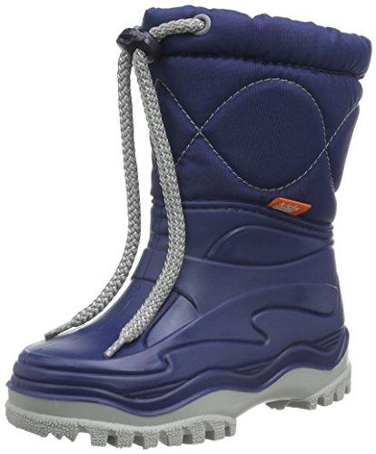 demar. Kinder Winterstiefel Schuhe gefüttert Windy, Blau, 34/35 EU