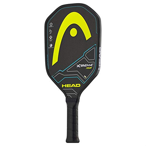 HEAD Graphite Pickleball Paddle - Extreme Tour Lightweight Paddle w/ Honeycomb Polymer Core & Comfort Grip