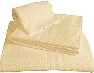 Rosa Viso Tris Asciugamani Bagno Telo Doccia Ospite in Morbida Spugna 100/% cotone Colorati
