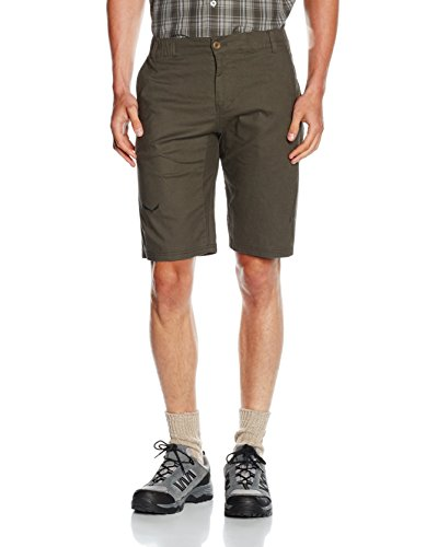 SALEWA - FREA Bermuda CO/Hemp M Shorts Pantaloncini - XS - Grigio - Uomo