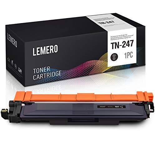 LEMERO Compatibile Cartucce di Toner per Brother TN247 TN-247 con Chip per Brother HL-L3210CW L3230CDW L3270CDW MFC-L3710CW L3730CDN L3750CDW L3770CDW DCP-L3510CDW L3550CDW L3517CDW