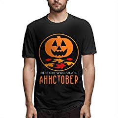 Dr. Wolfula's AHHCTOBER Heather Colors - Cotton/Poly Blend & Solid Colors - 100% Cotton Dr. Wolfula's AHHCTOBER MADE OF SOFT & COMFORTABLE FABRIC - There's Nothing Better Than Being Cozy+free In Clothing So We Use Relaxed Fit + Breathable Pre-shrunk ...