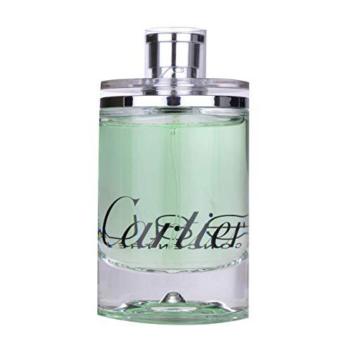 Cartier Eau de Cartier Concentree for Unisex Eau de Toilette Spray, 3.4 Oz (Tester/Plain Box)