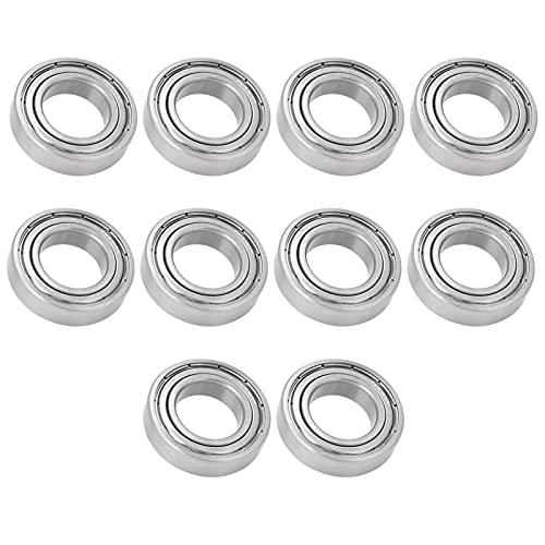 Cojinete, 10 piezas de cojinete de acero inoxidable resistente a altas temperaturas...