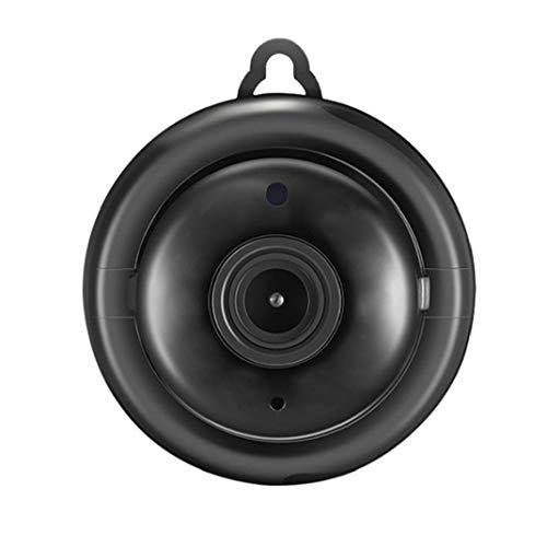 Rrunzfon Suministros de cámara inalámbrica V380 WiFi IP bebé de la cámara de visión Nocturna HD Pequeño Cubierta Principal de la película de plástico Negro y la fotografía Accesorios de la televisión