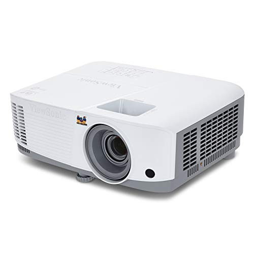 ViewSonic PA503S SVGA Business Projector (3600 Lumens, 600p, DLP, Dual HDMI, 3X Fast Input, SuperColor Technology, 10W Speaker) - White
