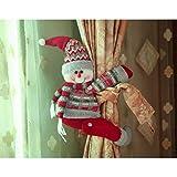 TAIPPAN - Hebilla para cortina de Navidad, diseño de muñecas, decoración...