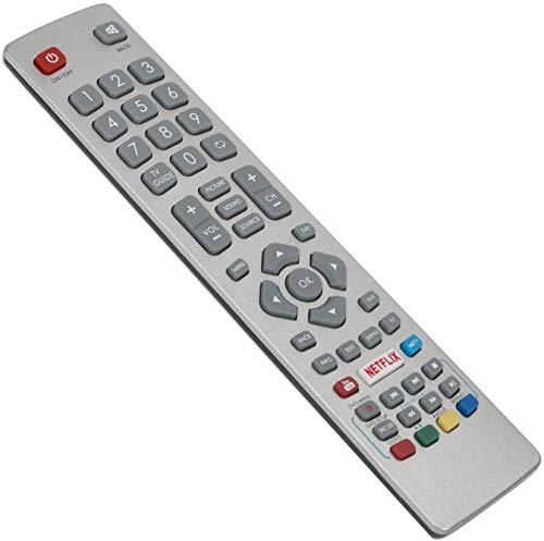 ALLIMITY SHWRMC0115 Afstandsbediening Vervangen voor Sharp Aquos HD Smart TV with Netflix LC-40FG5342E LC-40UG7242K LC-40UG7252E LC-40UG7252K LC-40UI7352E LC-40UI7552K LC-43CFG6001K
