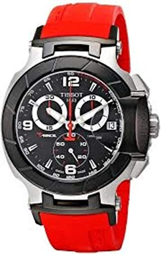 Tissot T-Race Reloj cronógrafo para hombre con esfera negra (Modelo: T0484172705701) tissot