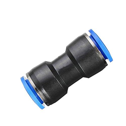 Steckverbinder Pneumatik Druckluft Verbinder Kupplung für Schlauch - 6mm