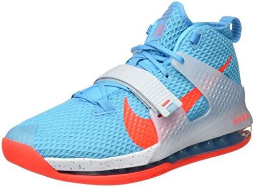 NIKE Men's Air Force Max Ii Basketball Shoe, Blue Blue Fury Brt ...