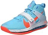 Nike Air Force MAX II, Zapatillas de bsquetbol Hombre, Azul (Blue Fury BRT Crimson White), 38.5 EU