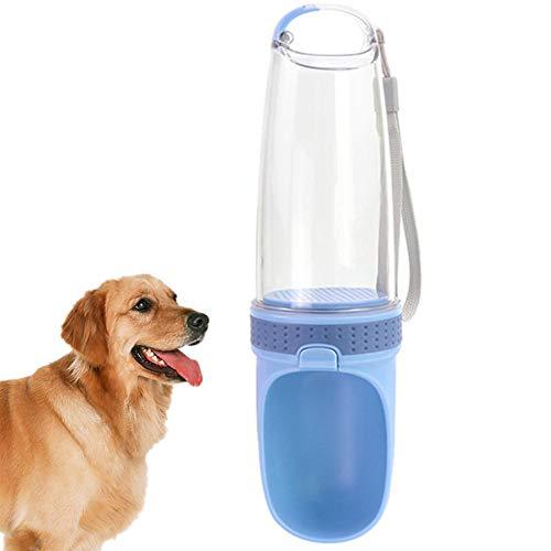 Csheng Dog Water Bottle Dog Water Bottle For Walking Pet Water Bottle Pet Drinking Cup Portable Dog Water Bottle Hanging Cat Water Cup Traveling Dog Water Bottle Puppy Water Bottle blue