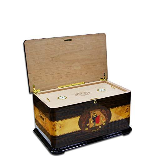 QQ HAO Zigarren Humidor Zeder gefüttert Aufbewahrungsbox für 100 bis 200 Zigarren