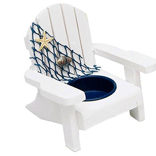 Stuhl Teelichthalter 4 Stück - Für ein Gastgeschenk sowie als Tischkarte