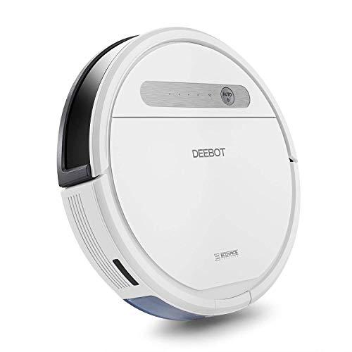 Ecovacs Deebot Ozmo 610 Robot Vacuum, Smart Robotic Vacuum, for Carpet, Bare Floors, Pet Hair, OZMO Mopping Technology, Alexa compatible (Renewed)