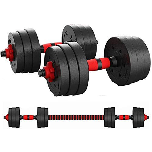 Mymixtrendz Fitness 4ft Olympic Barbell Weight Lifting Bar with Collar