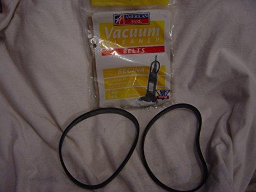 American Fare Regina Housekeeper Plus and Housekeeper Upright Vacuum 2 belts in 1 package