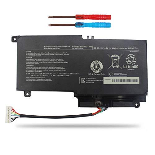 Vinpera PA5107U-1BRS Laptop Battery for Toshiba Satellite L50 L50-A L55 S55 S55T P50 P55t P50t-B S55-A5176 S55-A5188 P55-A5312 P55T-A5116 P55T-A5118 P55T-A5202 S55-A5295 S55-A5279 P55-A5200 L55-A5284